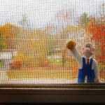 Cleaning windows in West Michigan