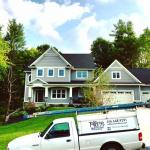 Residential window cleaning by TallBoys